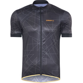 Craft Reel Graphic Jersey Men Black/Flourange